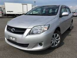 2011 Toyota fielder silver in color
