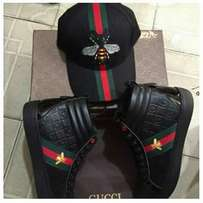 Gucci Cap and Sneakers