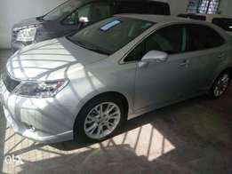 Lexus HS 250H hybrid 2010 model KCN number. Loaded with alloy rims ,