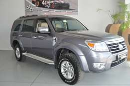 Ford Everest 3.0 Tdci XLT in very good condition and FSH