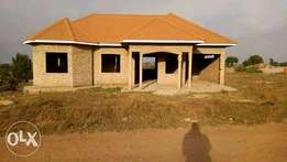 Three bedroomed shell house with master ensuite and armed with approve