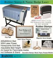 Laser Engraving Machine - Make Rubber Stamps, AcrylicSigns, Wood Craft