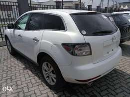 White Mazda cx7 KCN number 2010 model