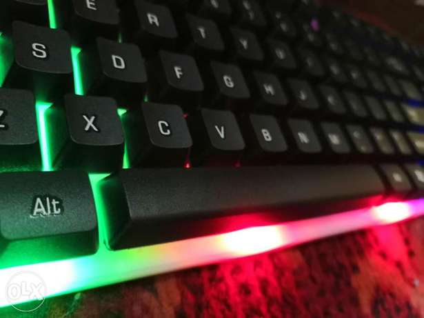 New keyboard and mouse with lightings