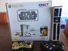 Limited Edition X Box 360: Star Wars + 2 controllers