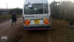 well maintained toyota hiace and ready to drive