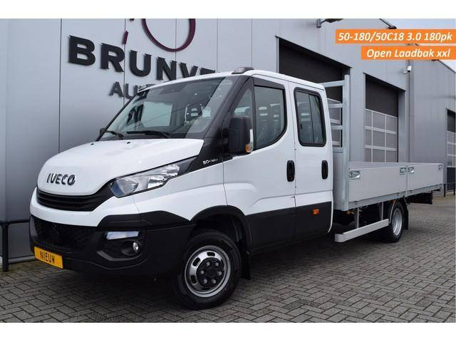 Iveco Daily 50C18 3.0 180pk, NIEUW! 7 pers. Dubbele Cab - 2019