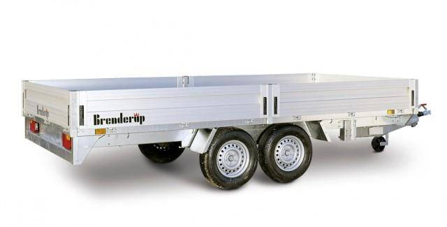 Brenderup 5420 Alu Hochlader, 2,5 to. 4200 x 1800 x 350 mm