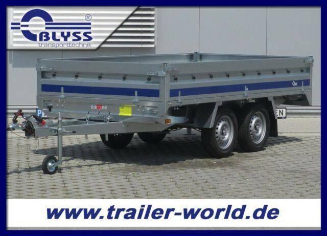 Blyss Hochlader 304x160x38cm Anhänger 1500 kg GG