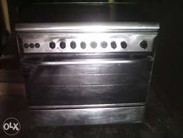 6 burner Standing Gas Cooker (2 Electric & 4 Gas Burners)