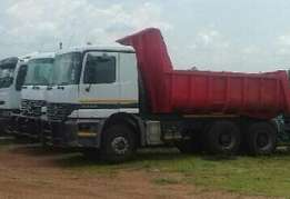 2003 M/Benz 3335 , 10cube, with work R375000.00