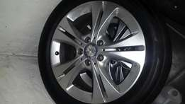 Mercedes rims and tyres x4 - 225/50/17