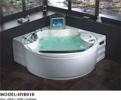 Jacuzzi with T. V