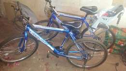 2 bicycles in perfect condition
