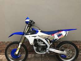 2014 Yamaha yz250f in very good condition