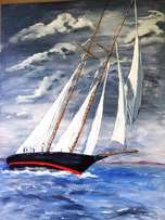 Sailing in Stormy Weather