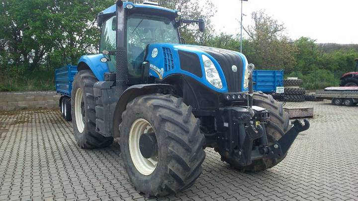 New Holland T 8.390 - 2014