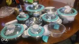 Imported Stainless Steel Cooking Pots with Timers