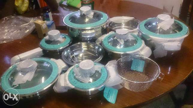 Imported Stainless Steel Cooking Pots with Timers Nairobi CBD - image 1
