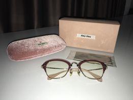 Miu miu очки оригинал окуляри оригінал для зору оправа 6d29da17acadc