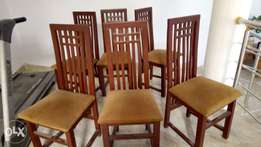 Set of 6 Dining Chairs For Sale