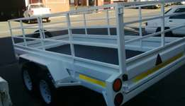 Double axle trailers for sale