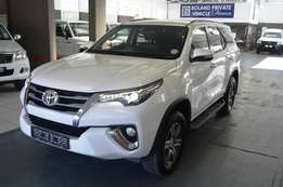 2016 Toyota Fortuner 2.8 GD-6 4x4 Automatic,