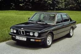 E28 525i complete body striping for spares