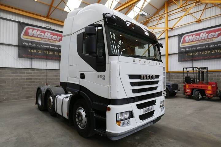 Iveco STRALIS 500 EURO 5, 6 X 2 TRACTOR UNIT - 2010 - AU10 AAF - 2010