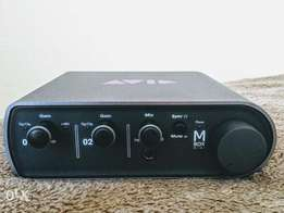 Mbox 3 professional sound card quick sale