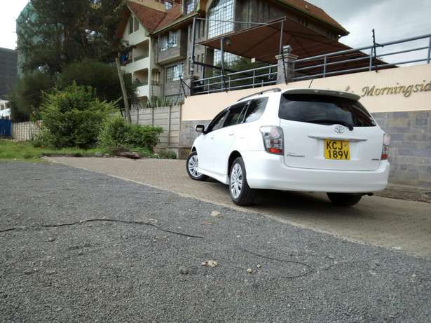 White Toyota fielder, 2009 model,1500cc,cash /bank finance accepted, Makina - image 6