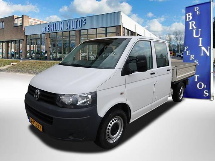 Volkswagen Transporter L2 Dubbel cabine Pick-up 84Kw/114Pk - Airco -... - 2013