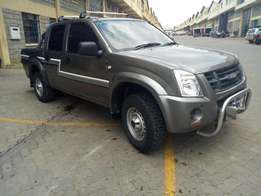 Isuzu double cab ,well maintained company vehicle,excellent condition