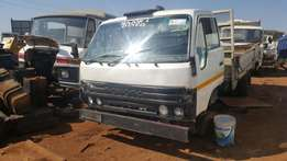 TOYOTA DYNA striping for Spares