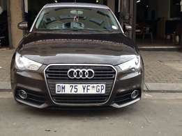 Audi A1 TFSi/ 2014 model /kilo 81000/Bank repo /for sale,