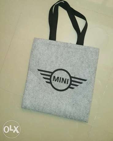 Mini cooper bag 40c×40c original Wool.شنطه ميني كوبر اورجينال