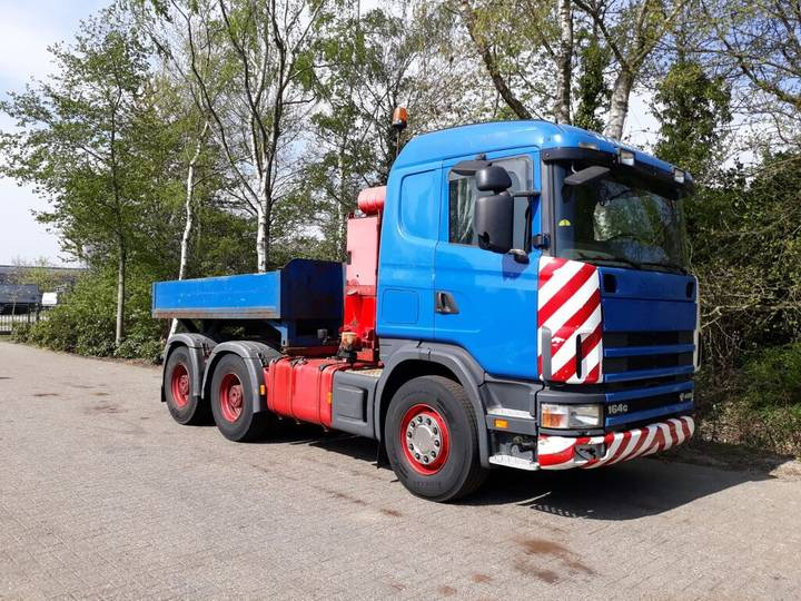 Scania 164.480 V8 manual steel suspension retarder  hydraulic - 2003