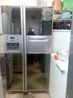Samsung glass door twin cooling refrigerator