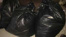 4 bags of clothes for 1200