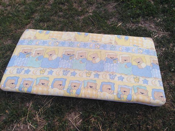 Materac Dziecięcy Gąbką Dla Dzieci Z Misiami Miś Do łóżeczka