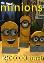 Wooden Minion art decor