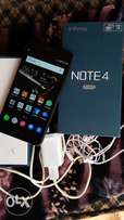 NOTE4 pro 3GB RAM with receipt and original charger+pack