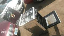 Nexus 4-unit gas cooker oven with grill