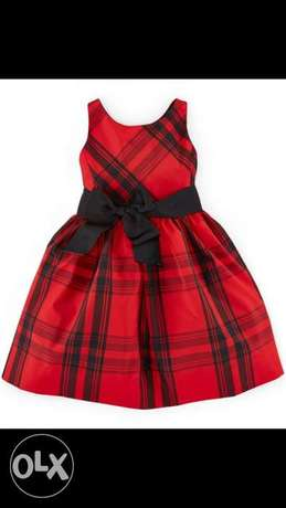 Ralph Lauren red dress 5-6 years old