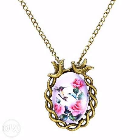 Women Vintage Floral Bird Statement Necklace Nairobi CBD - image 6