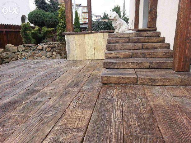 Deska Tarasowa Z Betonowego Drewna Betonowe Drewno