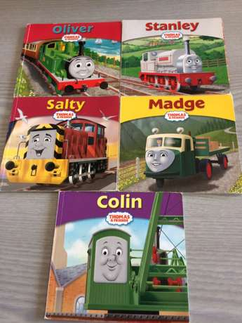 Thomas (talking & driving forward toy Train) and x 10 Story Books Norwood - image 4