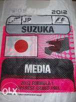 RARE JAPANESE race weekend tabard from the Formula1 season in 2012.