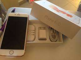 Brand new i phone 7 plus gold in color with 128Gb for sale