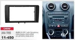 Double Din Upgrade Kit: For Audi A3: 9500 ksh